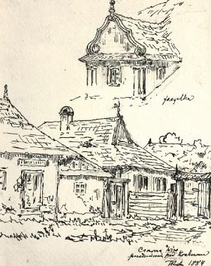 Tadeusz RYBKOWSKI (1848-1926), Czarna Wieś, 1884