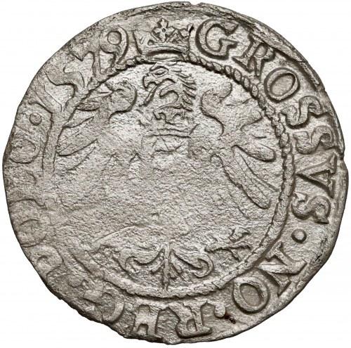 Stefan Batory, Grosz Olkusz 1579 - wąska głowa