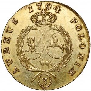 Poniatowski, 3 dukaty 1794
