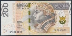 200 złotych 2015 - BF 3000003