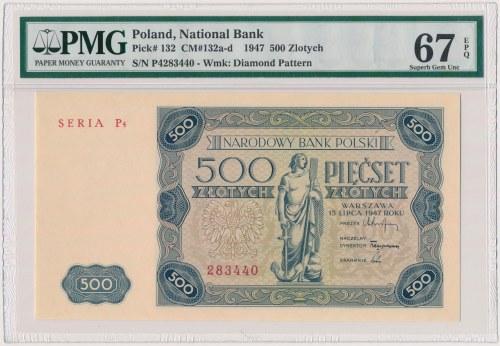 500 złotych 1947 - P4