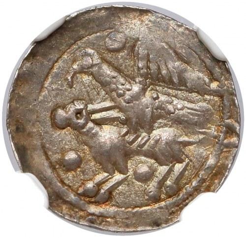 Władysław II Wygnaniec, Denar - Orzeł i Zając