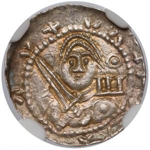 Władysław II Wygnaniec, Denar - Książę i Biskup - PIĘKNY