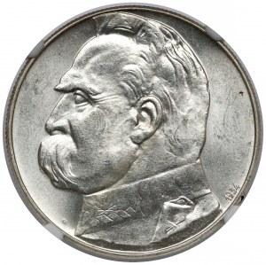Strzelecki Piłsudski 10 złotych 1934 - piękne