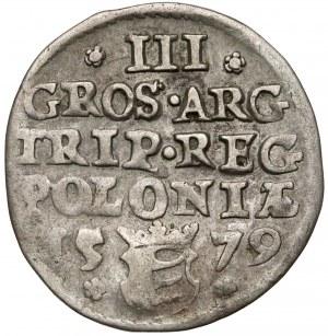 Stefan Batory, Trojak Olkusz 1579 - pierwszy - rzadki