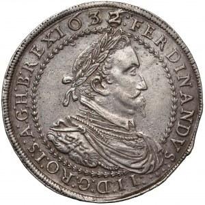 Austria, Ferdynand II, Dwutalar 1632 Graz - przebitka z 1626