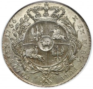Poniatowski, Talar 1766 F.S. - zbrojarz - MENNICZY