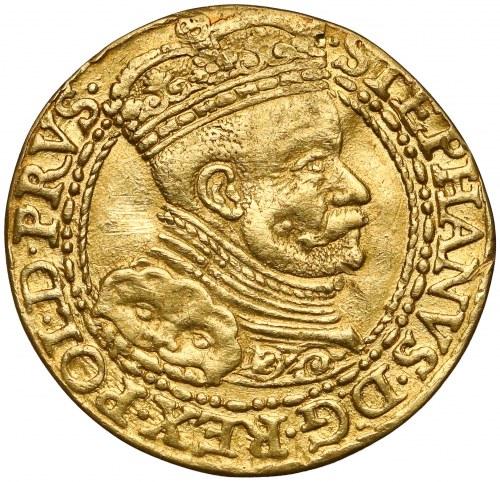 Stefan Batory, Dukat Gdańsk 1586