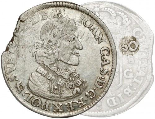 Jan II Kazimierz, Ort Bydgoszcz 1650 CG - RZADKOŚĆ