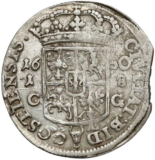 Jan II Kazimierz, Ort Bydgoszcz 1650 CG, BAL - RZADKOŚĆ