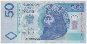 50 zł 1994 - AF 0000001
