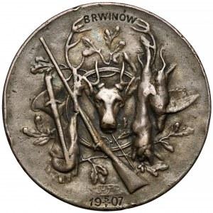 Medal strzelecki, Brwinów 1907 - SREBO