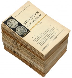 Biuletyn numizmatyczny (83szt)