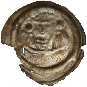 Mieszko III, Brakteat hebrajski -