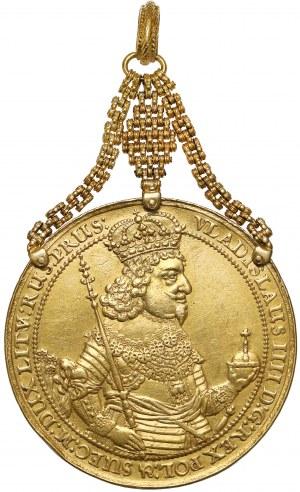 Władysław IV Waza, 10 dukatów Gdańsk 1644 G-R - Donatywa majestatowa