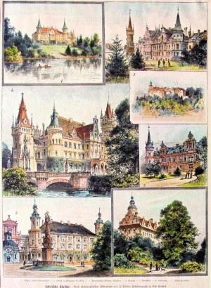 DOLNY ŚLĄSK. Zamki i pałace dolnośląskie w 7 sekcjach: 1