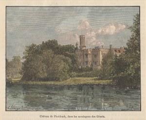 KARPNIKI. Widok na zamek; ryt. Navellier & Marie, rys. H. Clerget