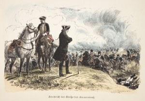 KUNOWICE. Bitwa pod Kunowicami (12 VIII 1759): Fryderyk II Wielki na polu bitwy