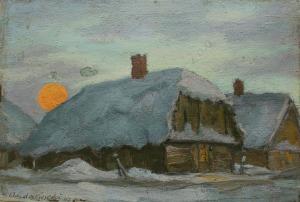 Szczepan Andrzejewski (1892-1950), Noc zimowa (1947)