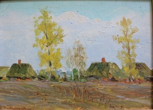 Szczepan Andrzejewski (1892-1950), Wieś latem (1947)