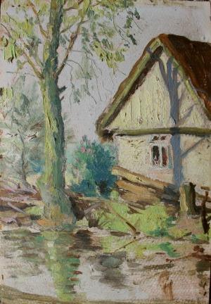 Szczepan Andrzejewski (1892-1950), Młyn (1941)