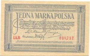 1 Marka Polska 17.05.1919 seria IAB