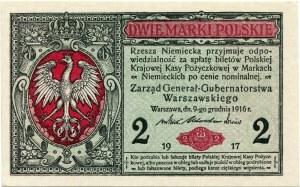 2 Marki Polskie 1916 Generał, seria B