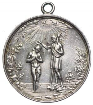 Medal na pamiątkę chrztu 16.04.1895r.