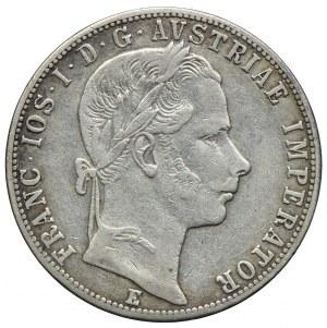 Austria, Franciszek Józef I, 1 floren 1861 E, Karlsburg