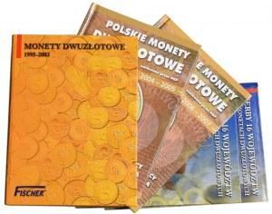 Zestaw monet dwuzłotowych 1995-2007+ 2 zestawy województw (142szt.)