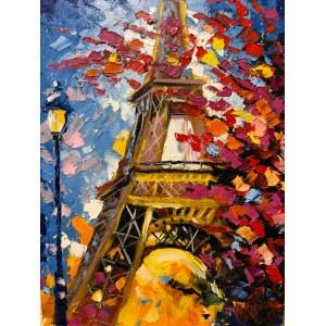 Yulia Gurzhiyants, Wszystkie kolory Paryża, 2019