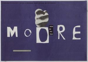 Plakat – Wystawa rzeźb Henry Moore'a