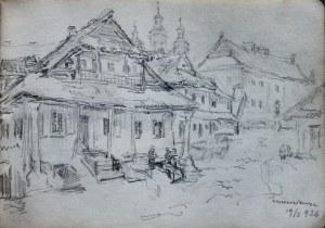Józef Pieniążek (1888-1953), Zabudowania w Krzemieńcu