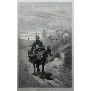 Józef Brandt (1841-1915), Lisowczyk