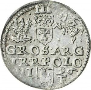 Zygmunt III Waza (1587–1632), trojak koronny, Olkusz; 1596