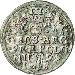 Zygmunt III Waza (1587–1632), trojak koronny, Olkusz; 1597