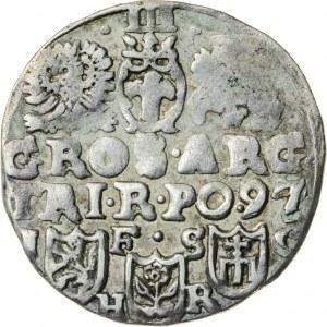 Zygmunt III Waza (1587–1632), trojak koronny, Bydgoszcz, 1597