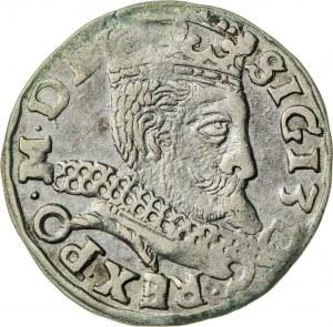 Zygmunt III Waza (1587–1632), trojak koronny, Wschowa, 1598