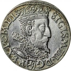 Zygmunt III Waza (1587–1632), trojak koronny, Kraków, 1602