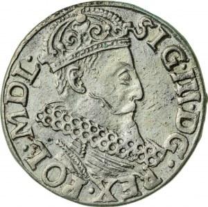 Zygmunt III Waza (1587–1632), trojak koronny, Kraków, 1620