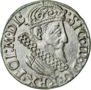 Zygmunt III Waza (1587–1632), trojak koronny, Kraków, 1623