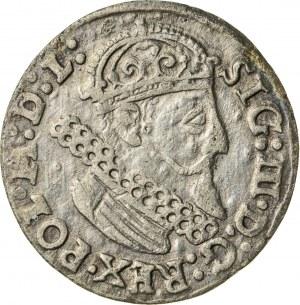 Zygmunt III Waza (1587–1632), trojak koronny, Kraków, 1624