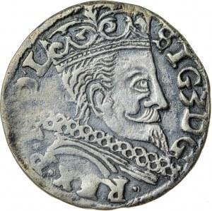 Zygmunt III Waza (1587–1632), trojak koronny, Lublin; 1597
