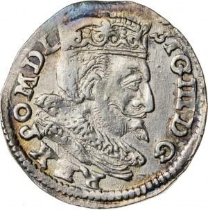 Zygmunt III Waza (1587–1632), trojak koronny, Lublin; 1599