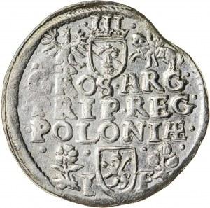 Zygmunt III Waza (1587–1632), trojak koronny, Wschowa; 1596