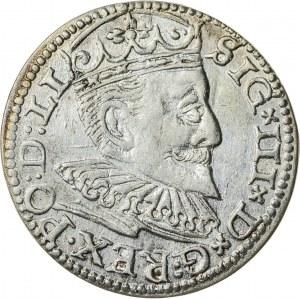 Zygmunt III Waza (1587–1632), trojak ryski, Ryga; 1595