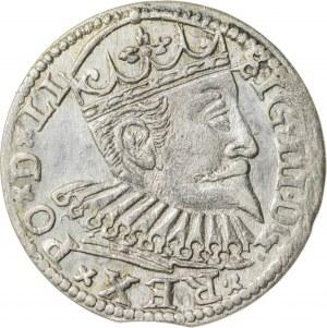 Zygmunt III Waza (1587–1632), trojak ryski, Ryga; 1598