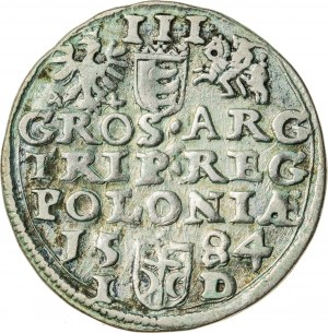 Stefan Batory (1576–1586), trojak koronny, Olkusz; 1584