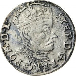 Stefan Batory (1576-1586), trojak litewski, Wilno; 1581