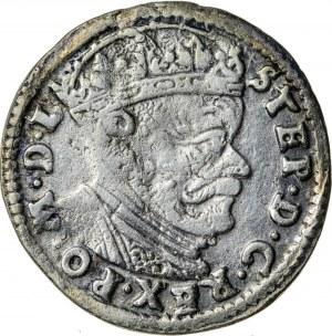 Stefan Batory (1576-1586), trojak litewski, Wilno; 1585